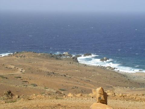 Aruba Road Eastern Side of Island
