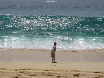 Me against the waves
