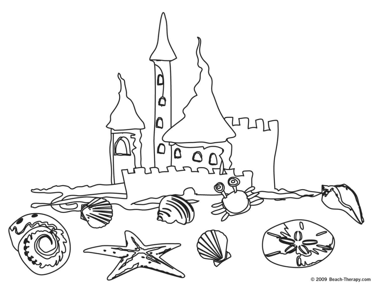 Castle Themed Coloring Pages Free Printable