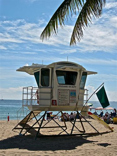 Ft Lauderdale Beach Lifeguard Stand
