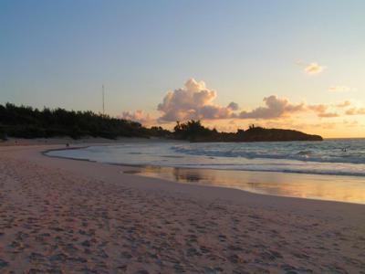 Horeshoe Beach at dawn