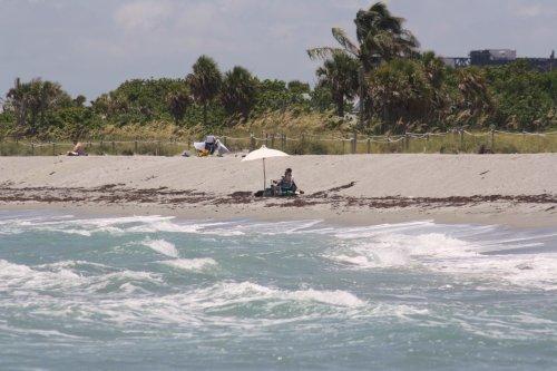 John U. Lloyd State Park Beach Erosion