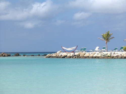 Marriott Aruba Private Island Beach