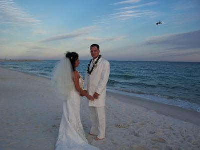 Navarre Beach Wedding