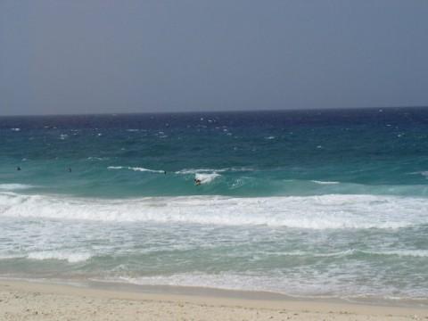 Surfing Dos Playa Aruba