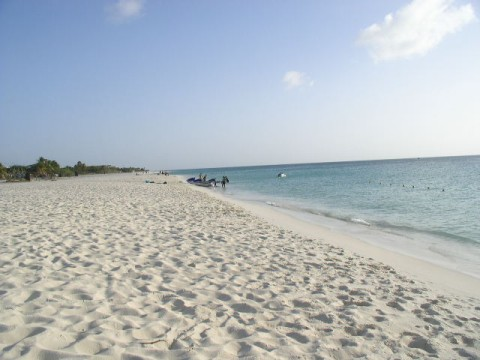 Eagle Beach, Aruba looking South